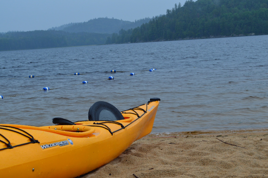 Achray Campground Algonquin Provincial Park Kayak www.turnipseedtravel.com
