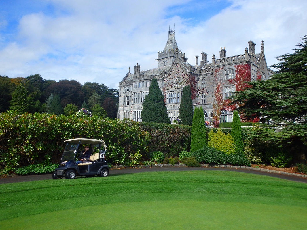 Golfing in Ireland at Adare Manor