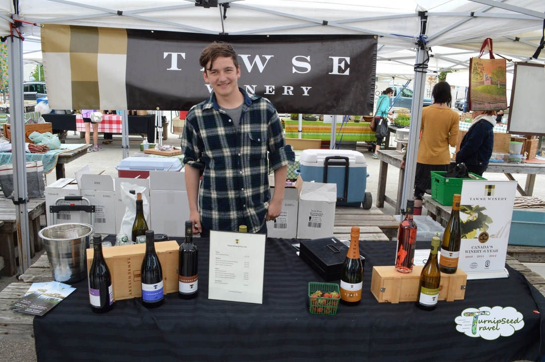 Tawse Winery London Ontario Covent Garden Market