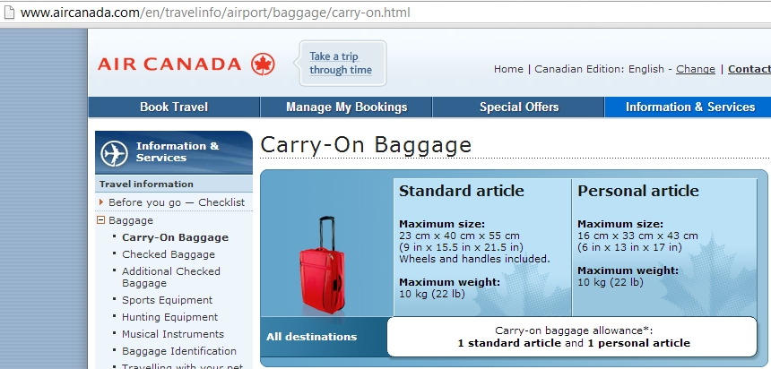All about carry-on luggage - TurnipSeed Travel
