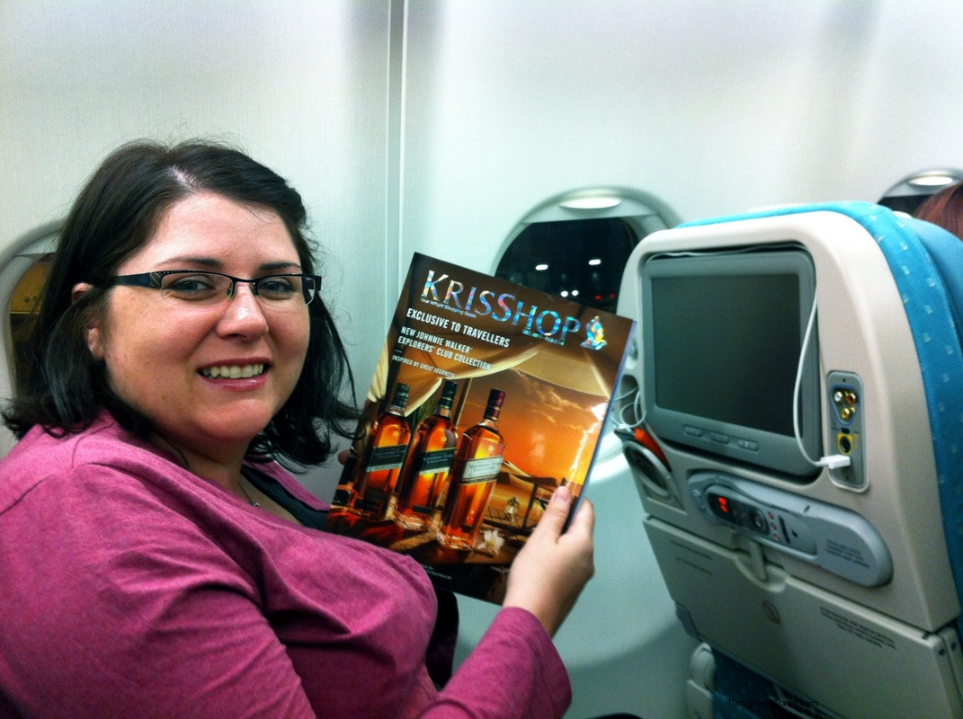 Making the most of economy class on Singapore Air