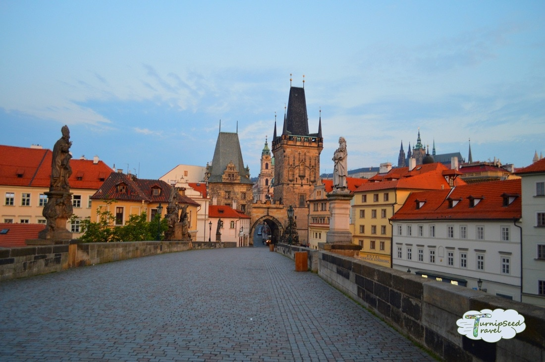 Charles Bridge and Gothic Bridge Tower