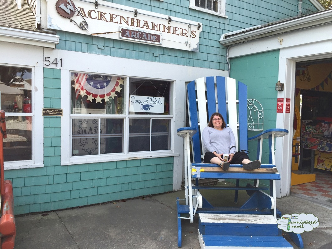 Giant beach chair, Hyannis Picture