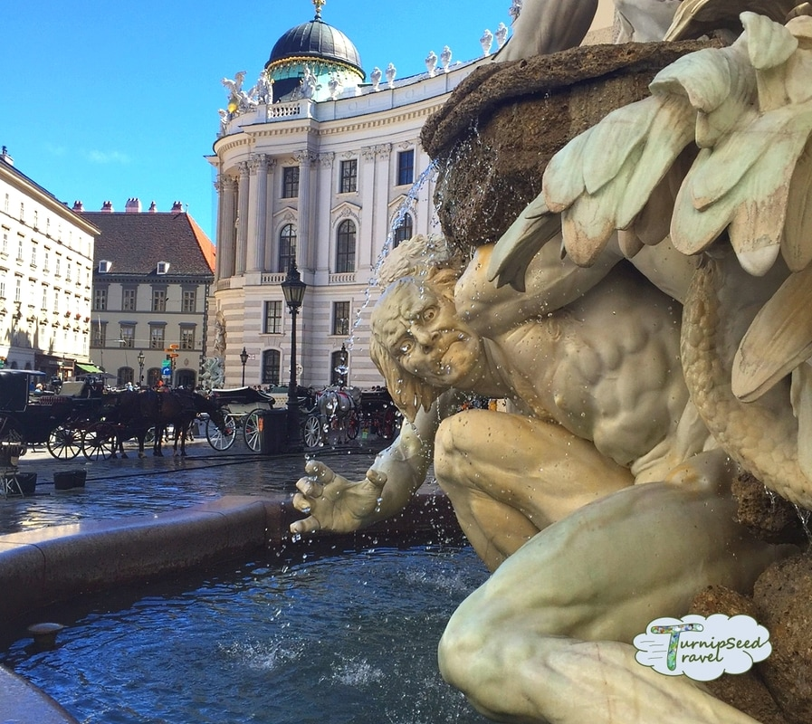 Fountain in Vienna Picture
