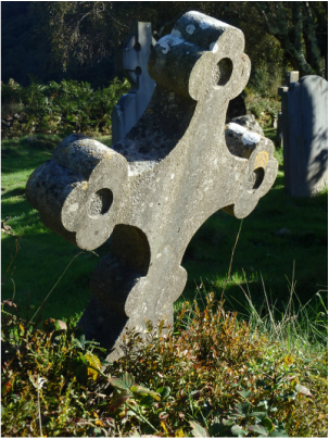 Glendalough Cemetery in Ireland's Wicklow Mountains
