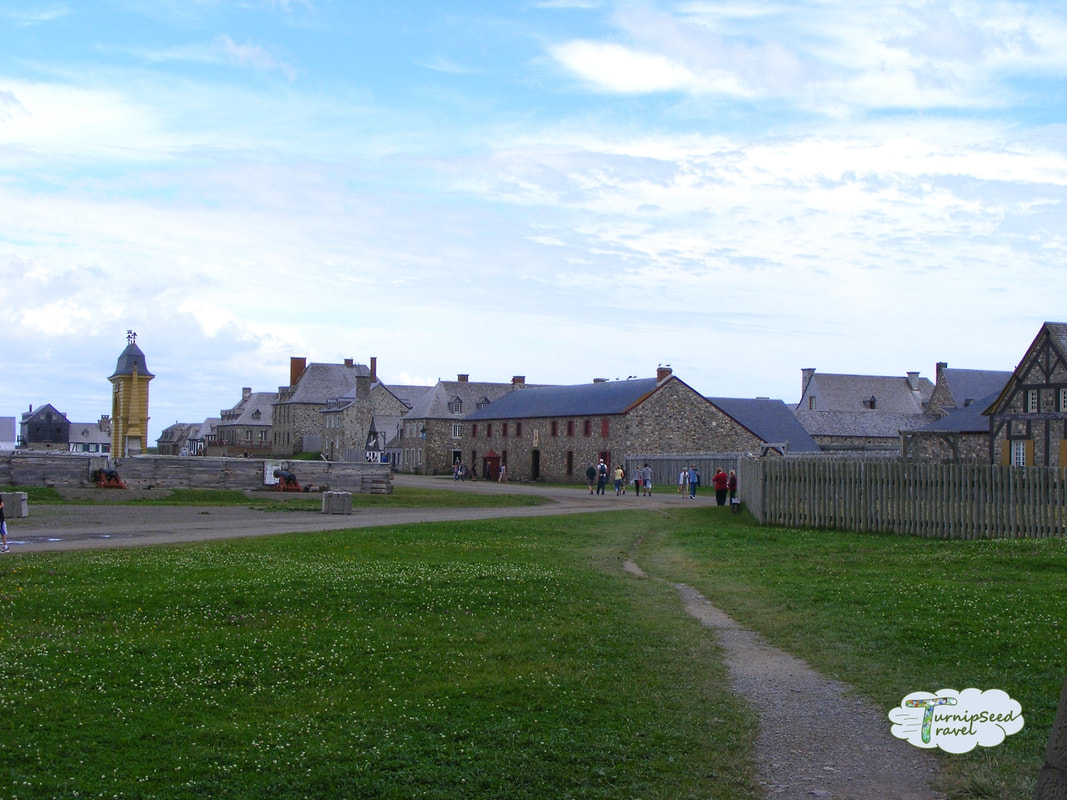 Nova Scotia travel Fortress Louisbourg Picture