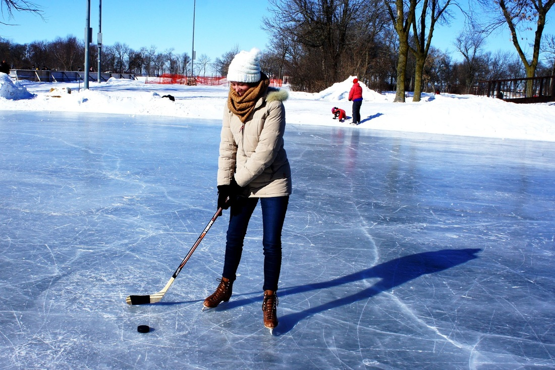 Playing hockey in Madison, Wisconsin