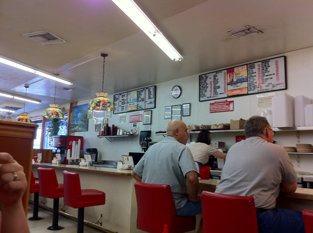 Lunch counter Tiffany's Diner Las Vegas Nevada TurnipseedTravel.com