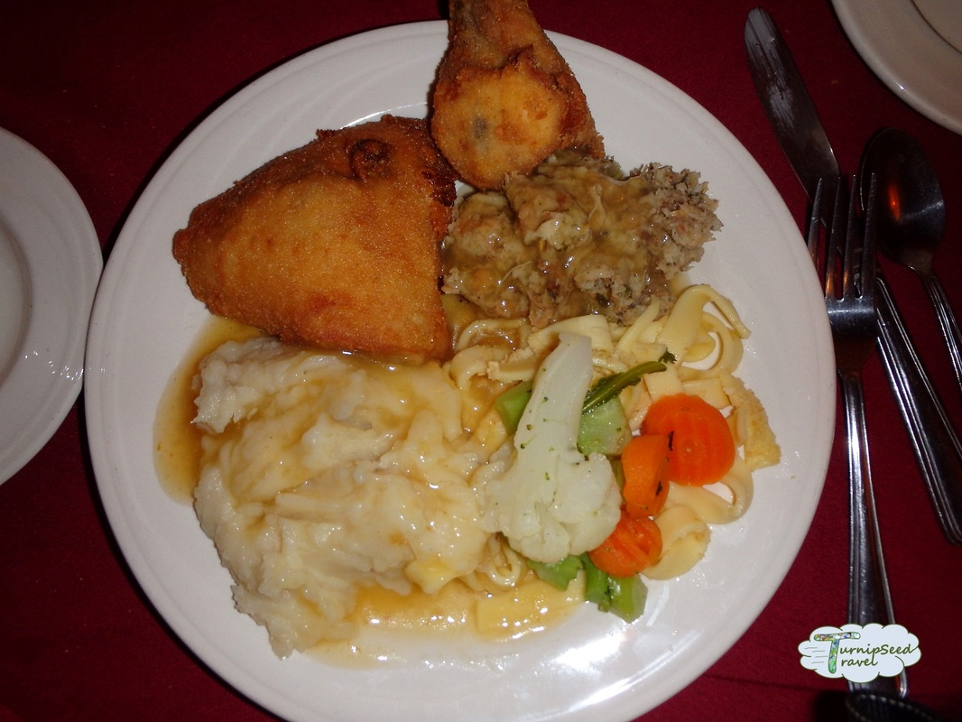 Frankenmuth Michigan German Chicken Dinner