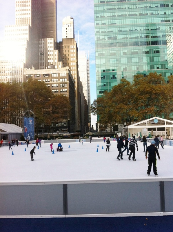 Bryant Park New York City Skating Winter TurnipseedTravel.com