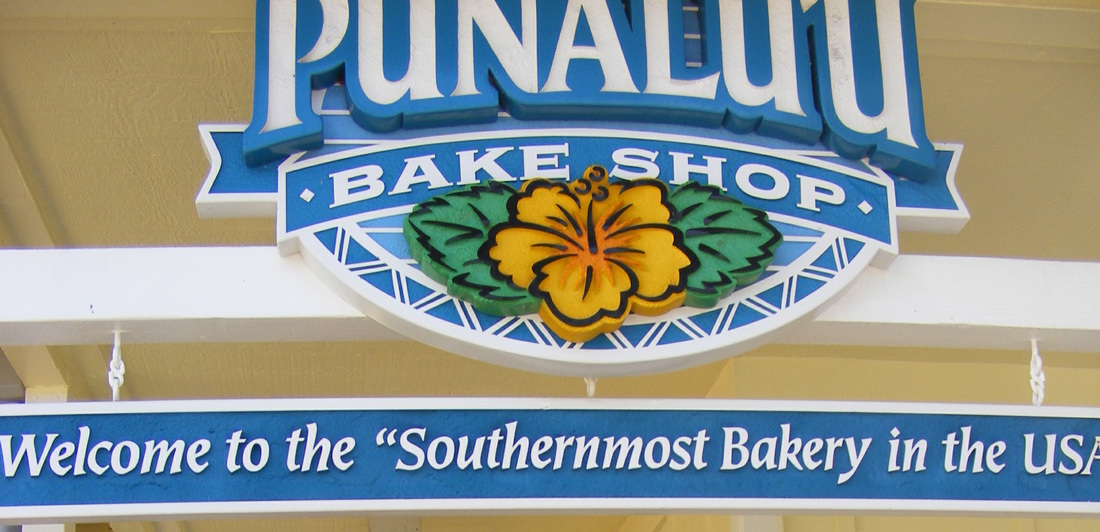 Punaluu bake shop southernmost bakery in the USA