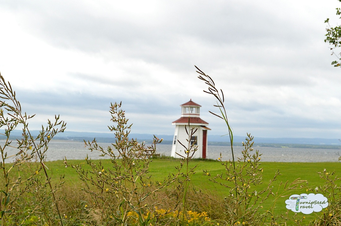Lighthouse in Malagash Nova Scotia