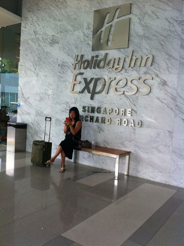 Holiday Inn Express Orchard Road Singapore TurnipseedTravel.com