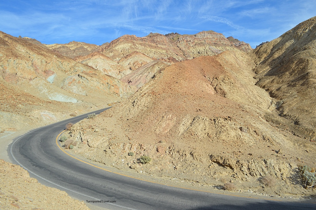 Mustard Canyon Death Valley National Park