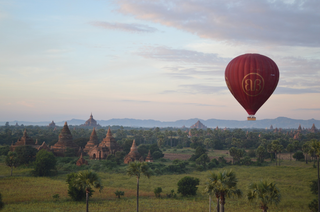 Review Balloons Over Bagan Hot Air Balloon Ride
