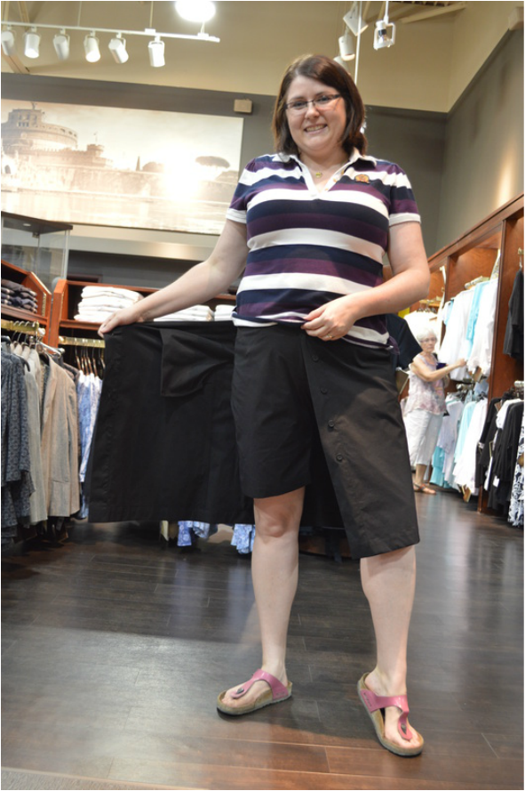 Tilley Endurables review travel skort