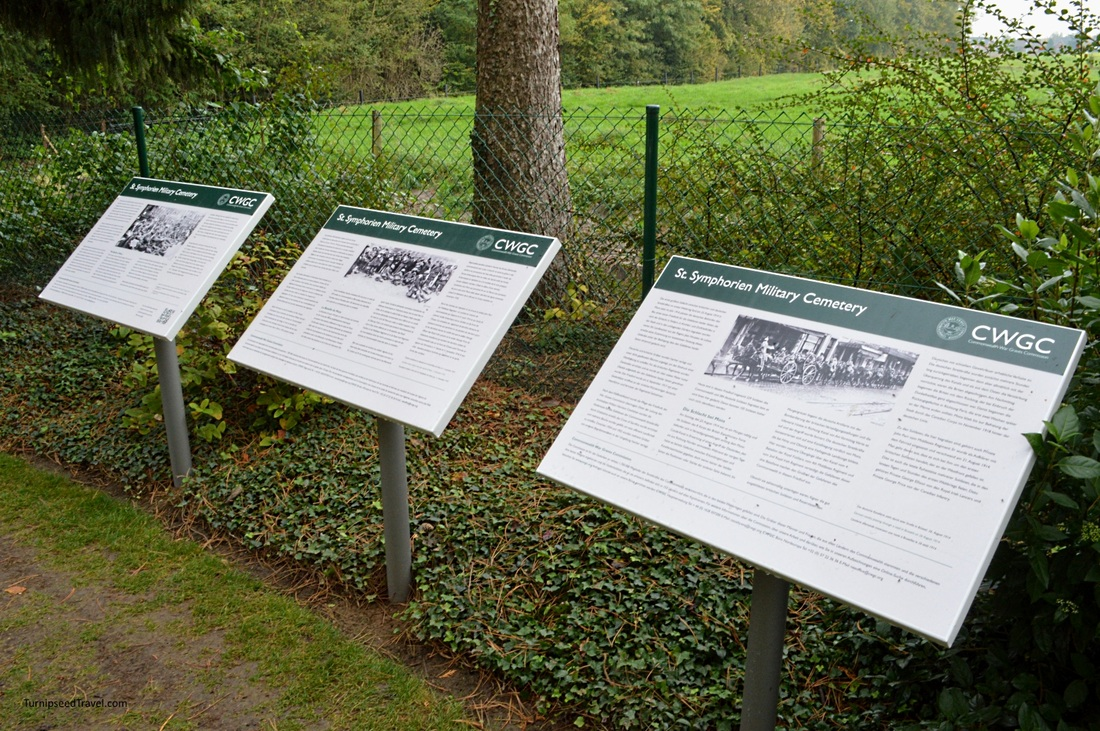 Information boards St Symphorien