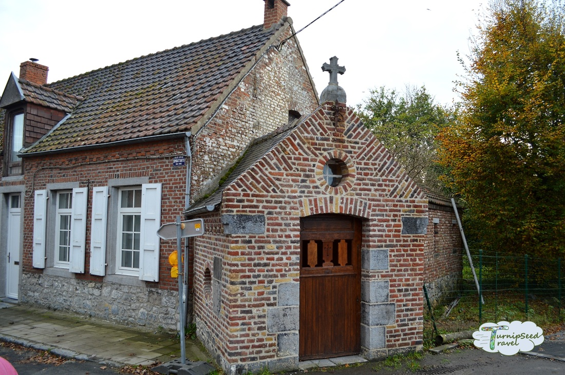 church in Casteau, Belgium