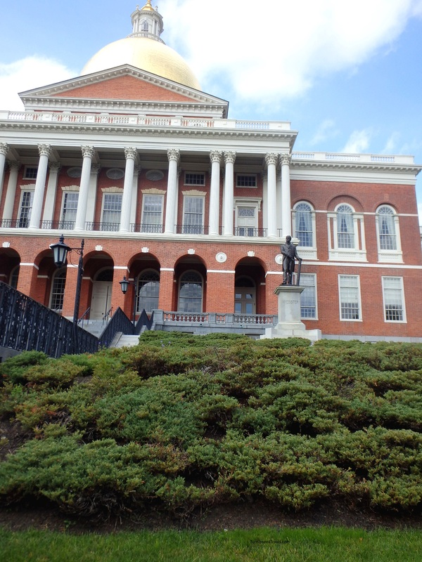 Massachusetts State House is free to visit.