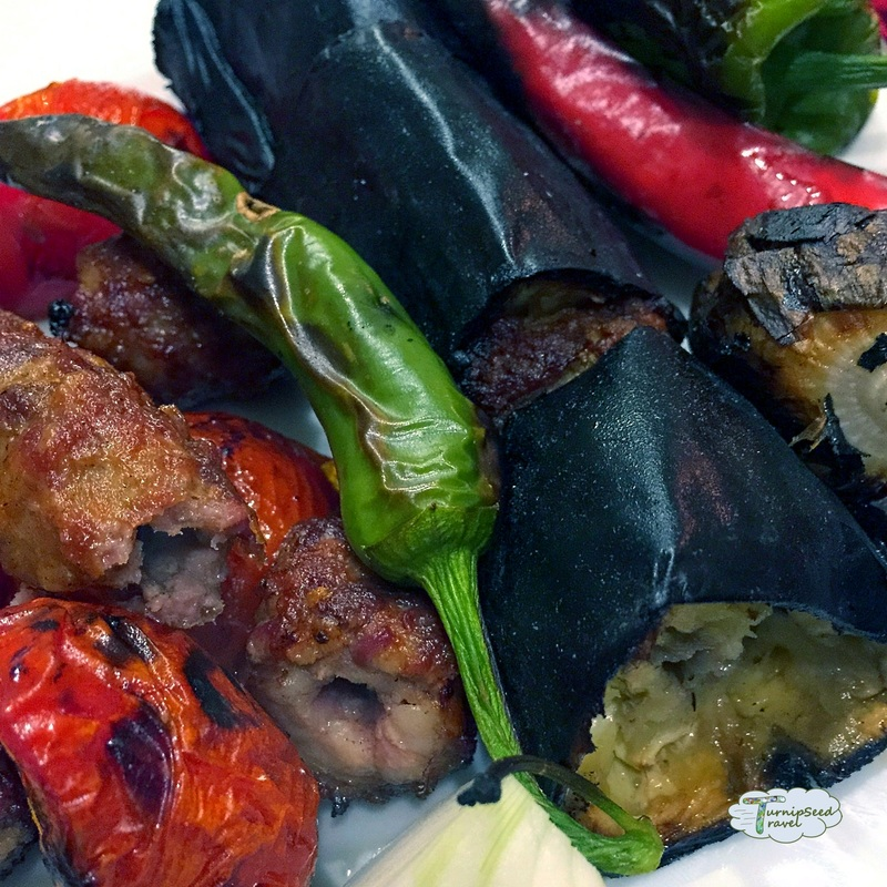 Urfa Mardin Turkey Roasted vegetables