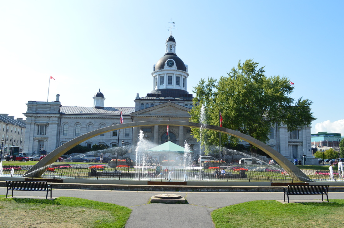 Visiting the kingston ontario waterfront for The kingston