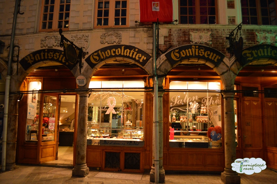 Chocolatier Grand Place, Arras, France
