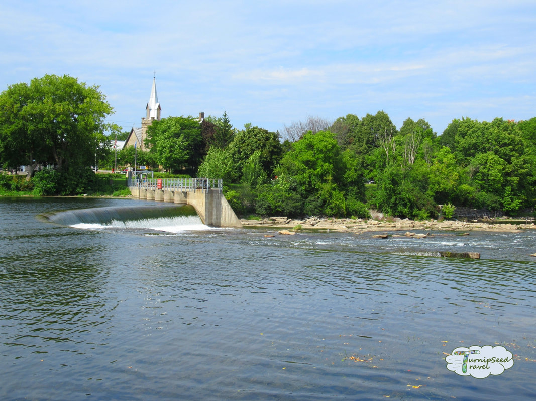 Almonte Ontario waterfall Ontario's Highlands Picture