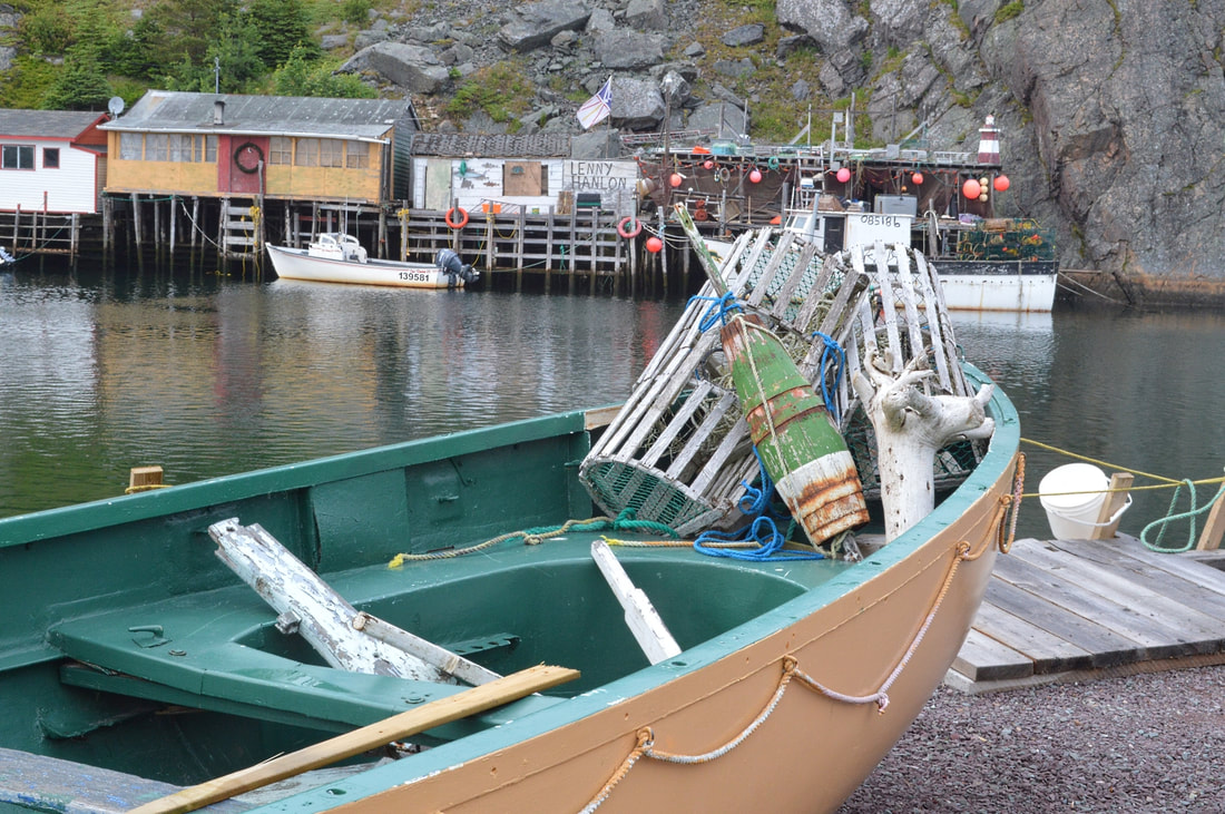 Canadian travel bucket list: fishing boat in Newfoundland Picture