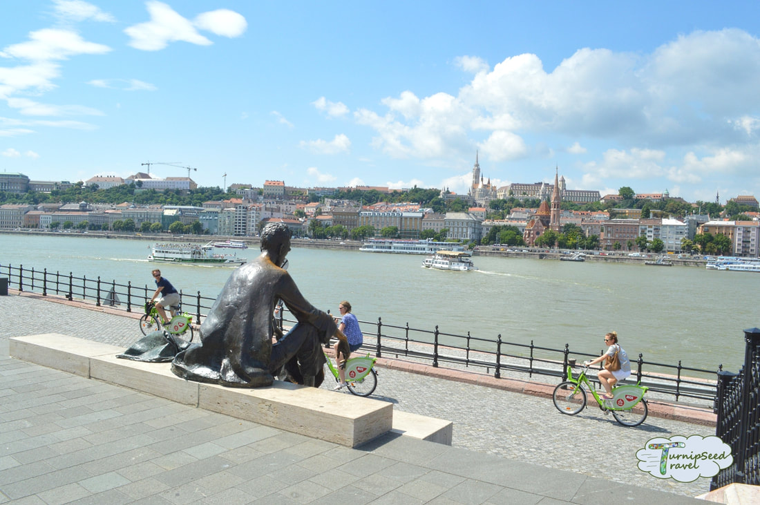 Hotel Moments Budapest review walking to the Budapest river Picture