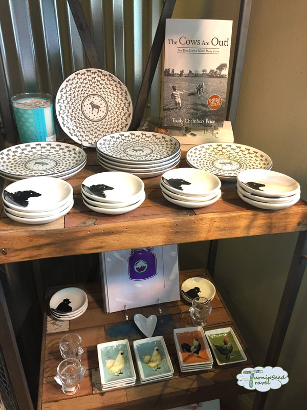 Housewares and gifts at Cabot Farmers' Annex in Portland Maine