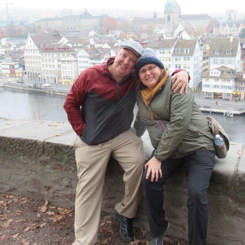 Vanessa and Ryan of Turnipseed Travel in Switzerland