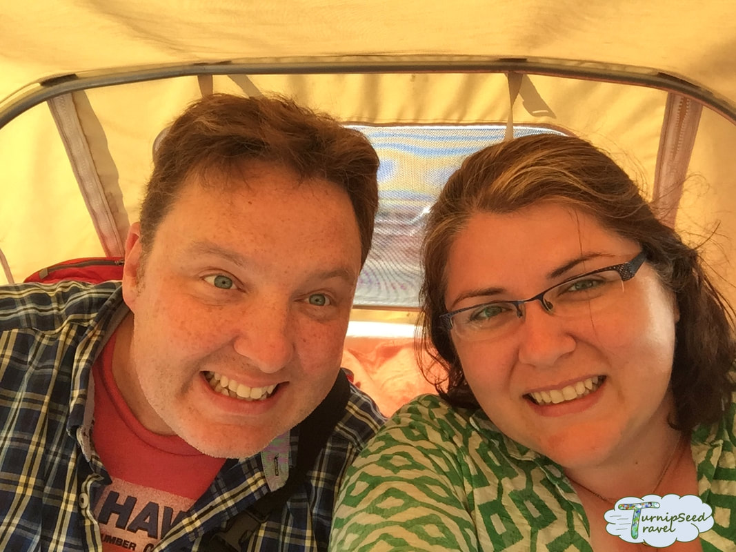 Hotel Moments Budapest review We used a tuk tuk to get around. Picture