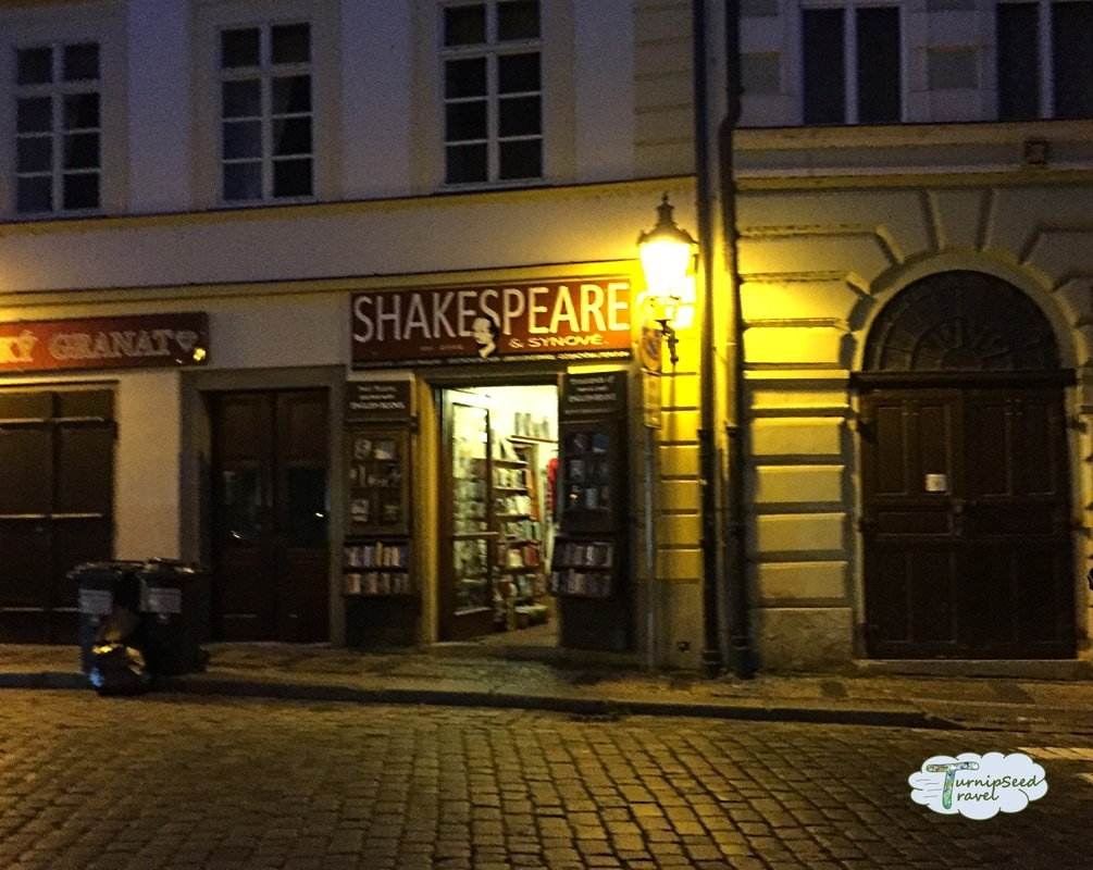 Shakespeare and Sons Bookstore Prague Picture