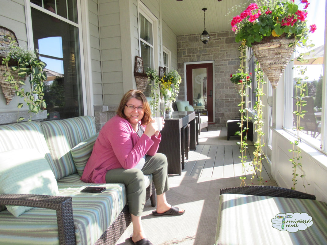 Mahogany salon and spa Carleton Place sunroom Picture