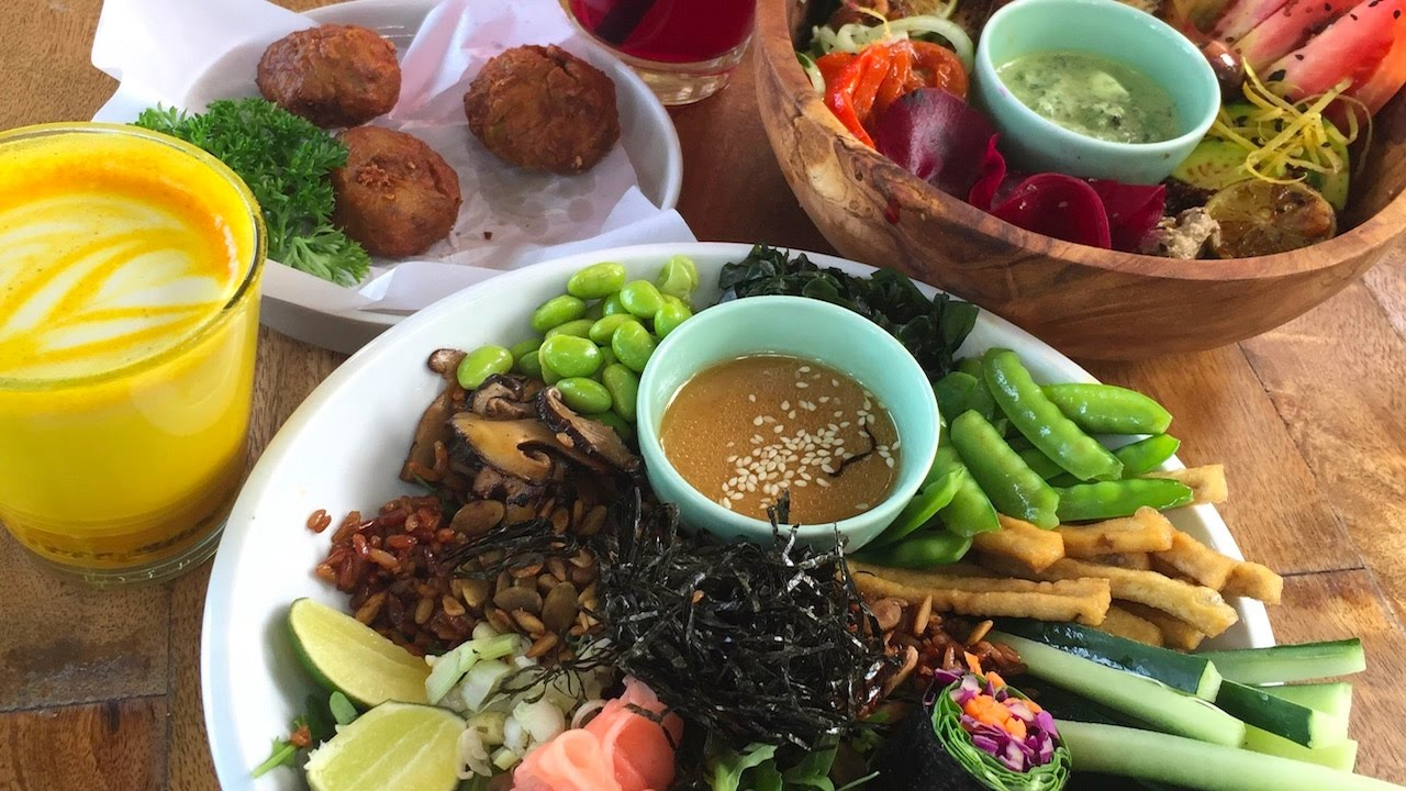 Platter traditional food Bali Picture