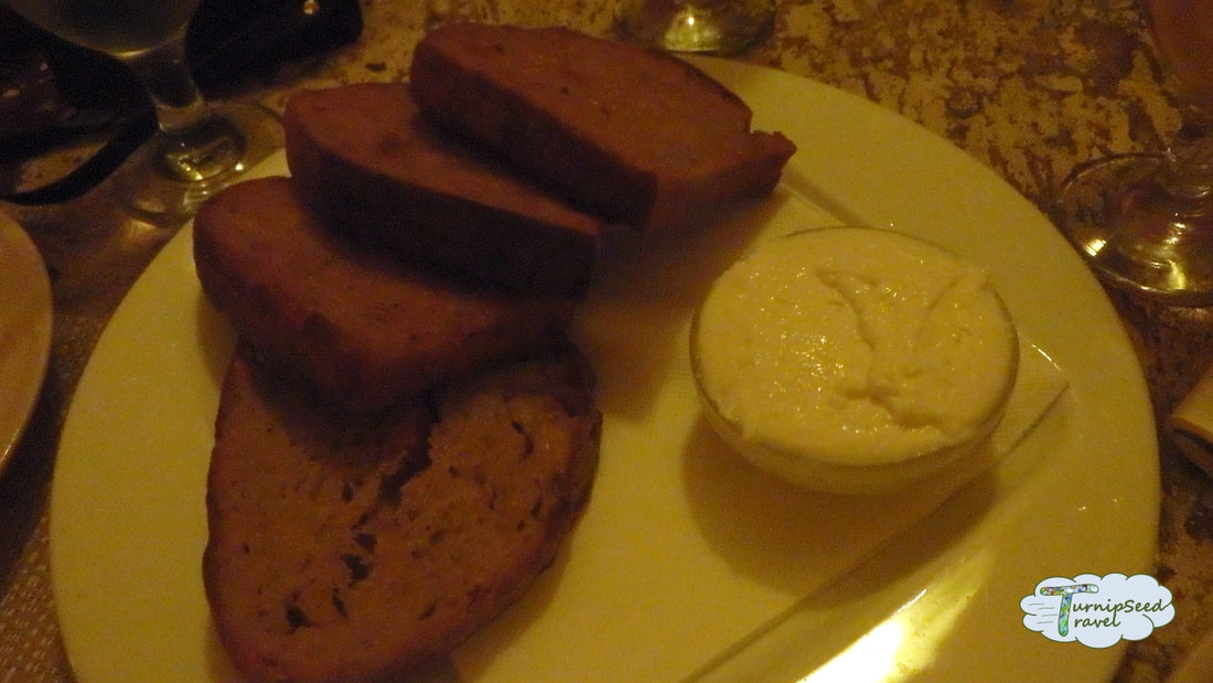 Kulovy Blesk Garlic bread tapas Urban Adventures Prague Picture