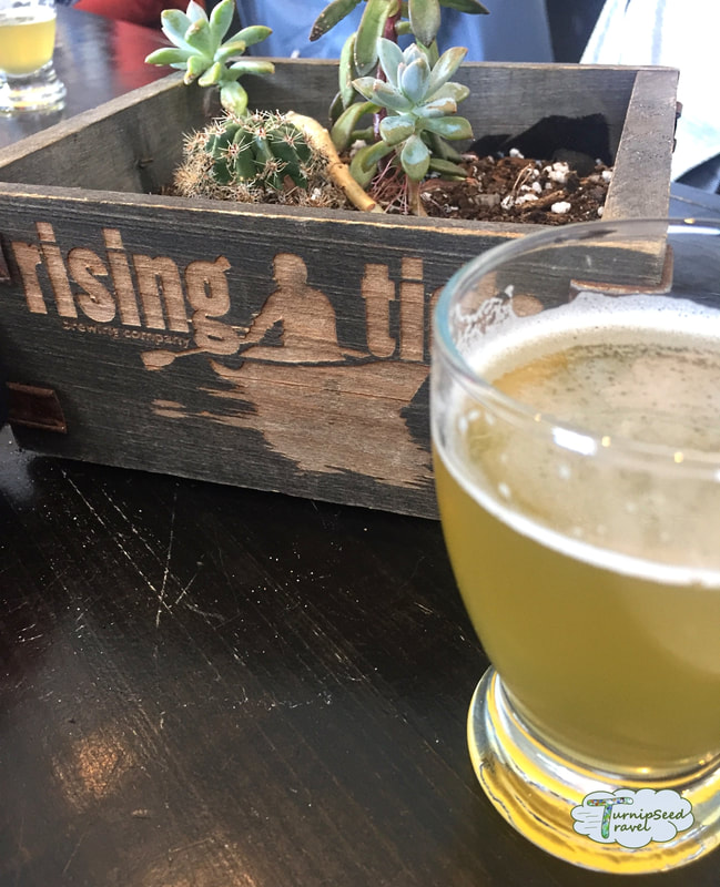 Beer at Rising Tide Brewery, Portland Maine